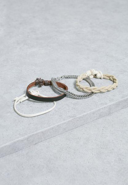 Set Of 4  Pyssi Bracelet