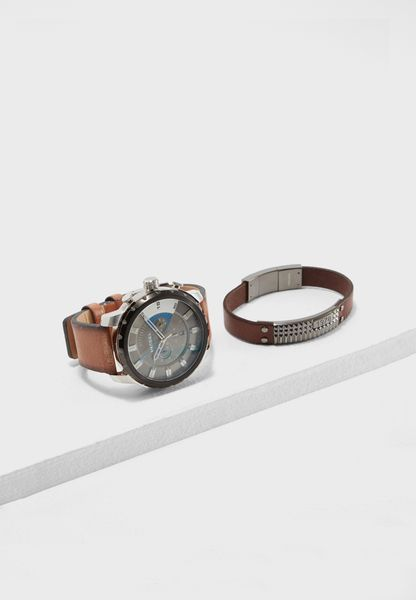 Chronograph Watch + Bracelet