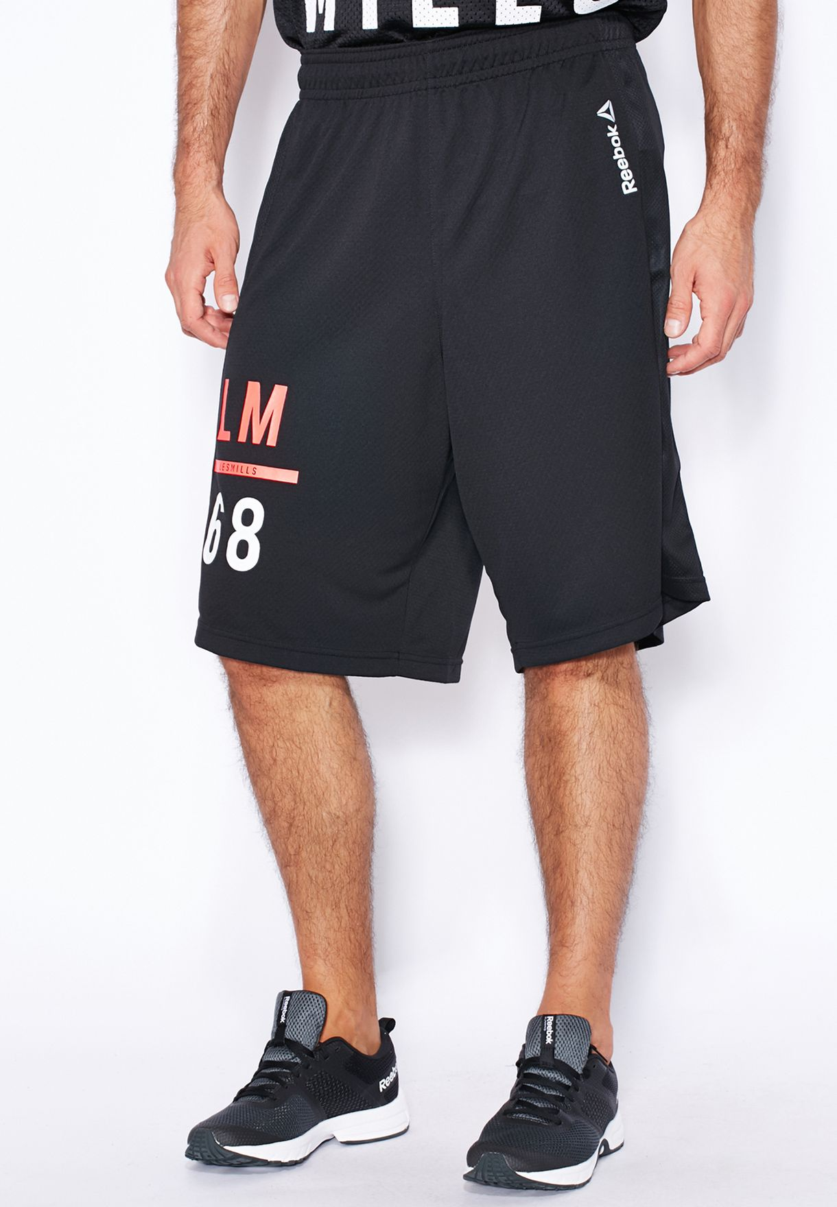 Humo Un evento detergente  Buy Reebok black Les Mills Basketball Shorts for Men in MENA, Worldwide |  AB3177