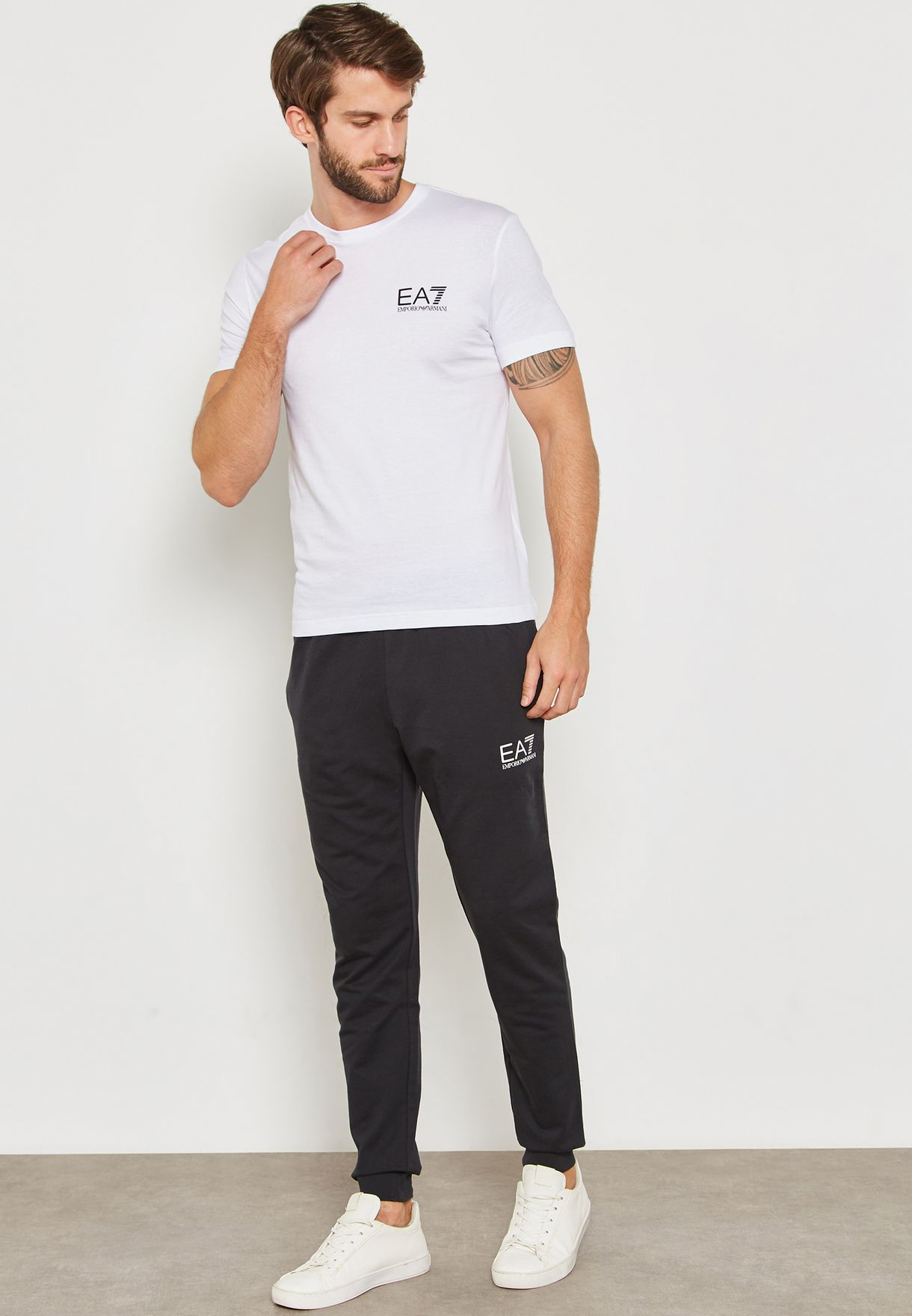 Train Core Cuffed Slim Fit Sweatpants