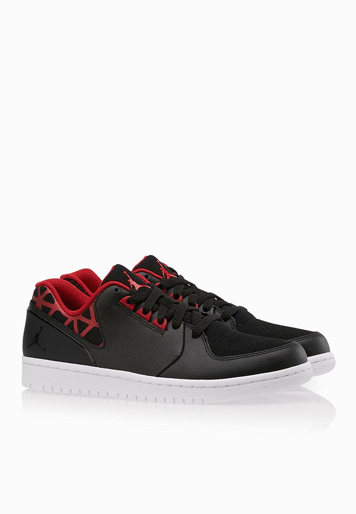 0749df6f09f3 Shop Nike black Jordan 1 Flight 3 Low 723982-001 for Men in UAE ...