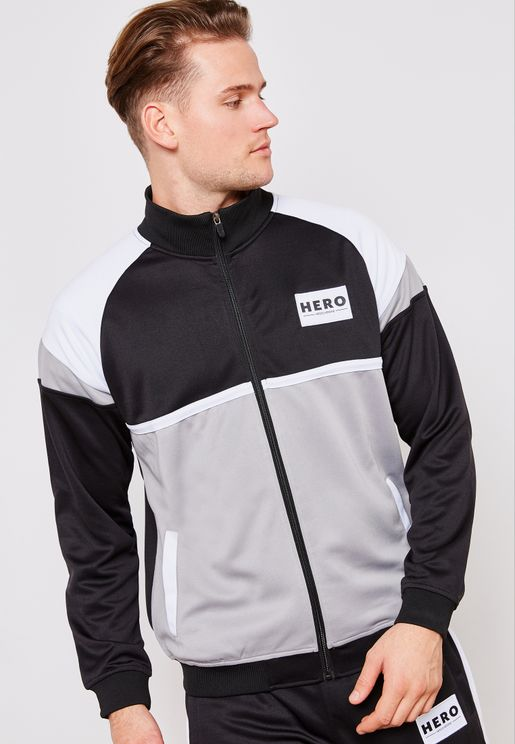 Colourblock Track Top