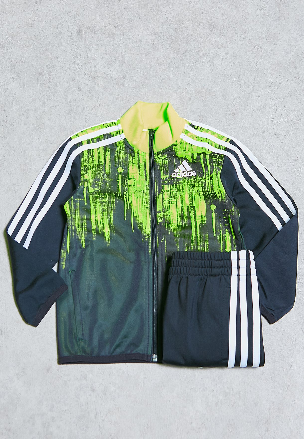 c3a2182f Shop adidas black Youth Tiro Tracksuit AX6345 for Kids in Kuwait ...