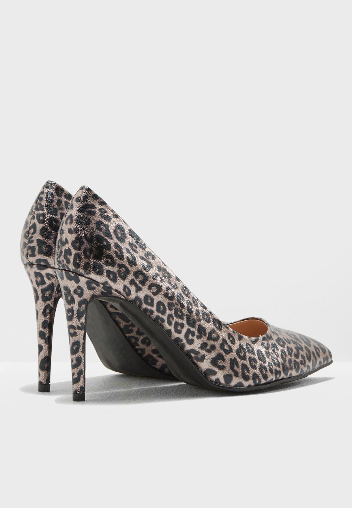 5a01a249a405e Shop Dorothy Perkins animalprint Wide Fit Leopard Print Emily Court ...