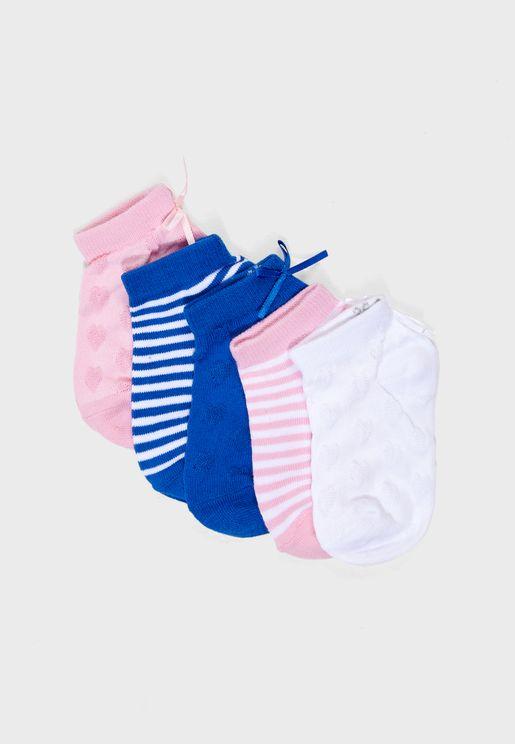 Kids 5 Pack Socks