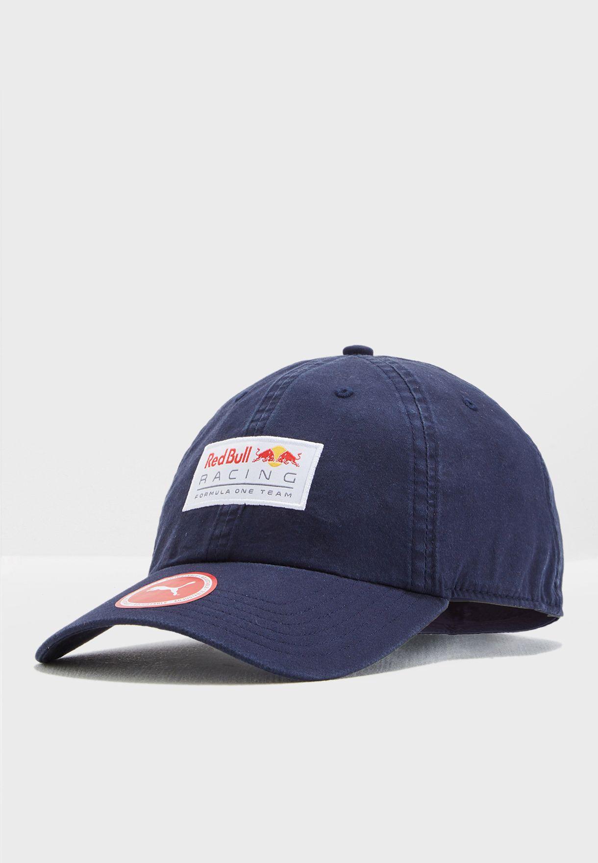 0d84505fa4d Shop PUMA navy Red Bull Baseball Cap 02178201 for Men in UAE ...