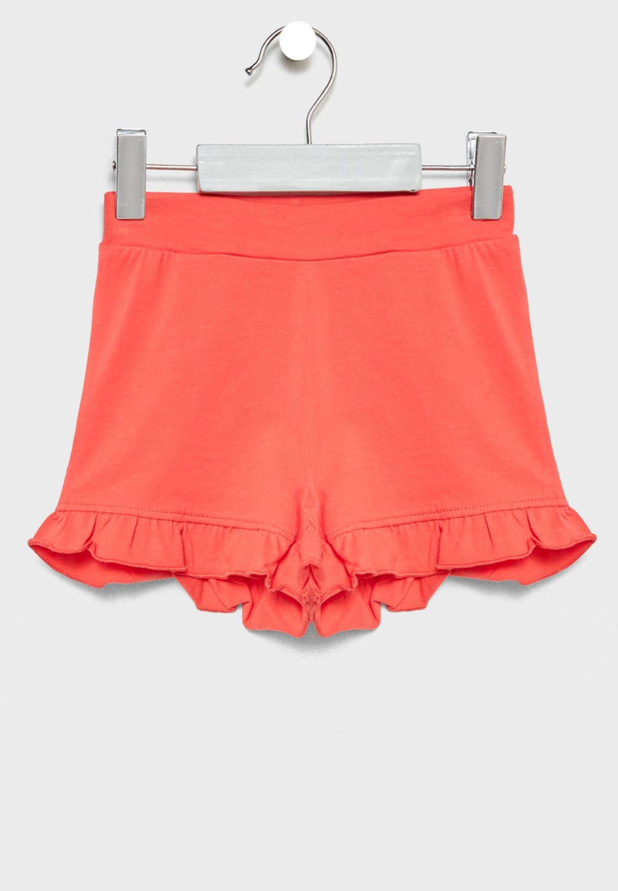 Infant Floral Tank Top + Shorts Set