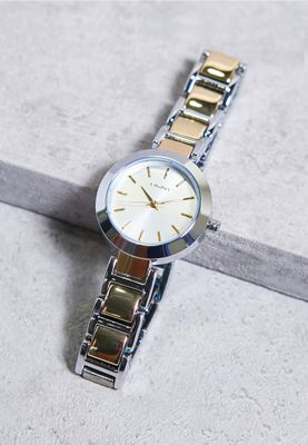 DKNY Stanhope Two-Tone Watch