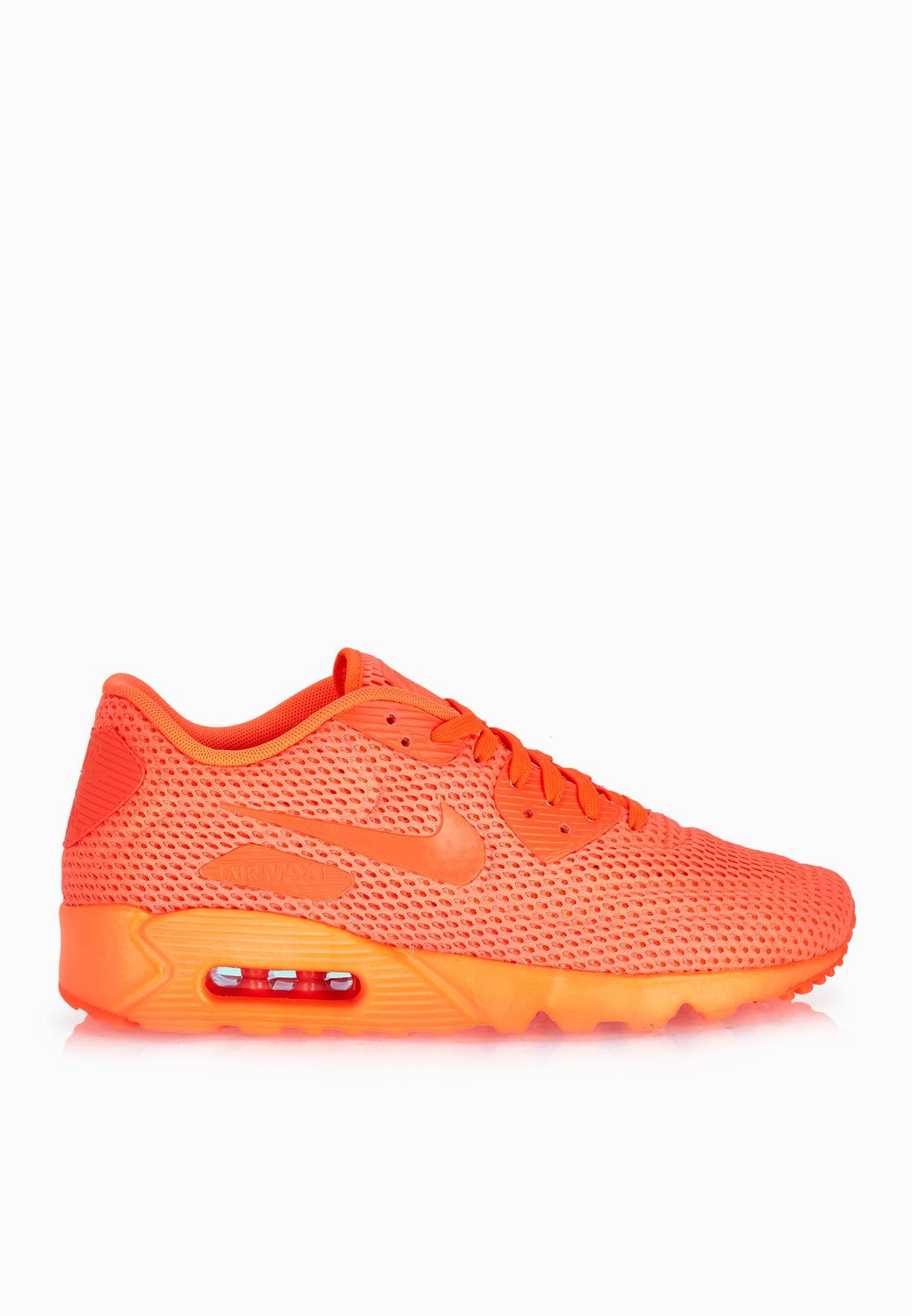 timeless design e1f2e d493f Shop Nike orange Air Max 90 Ultra BR 725222-800 for Men in Qatar ...