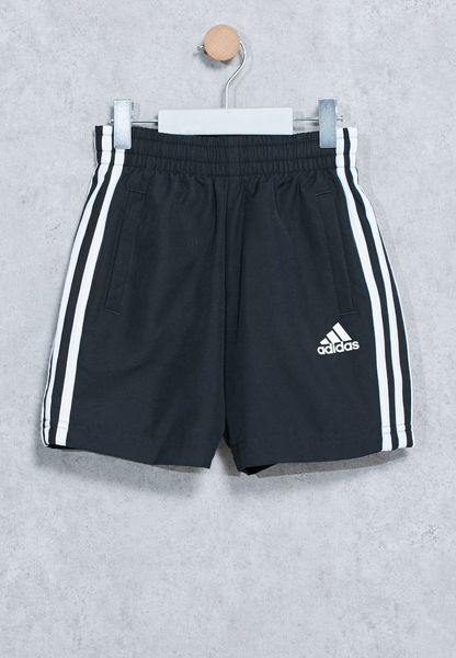 Youth 3 Stripes Logo Shorts