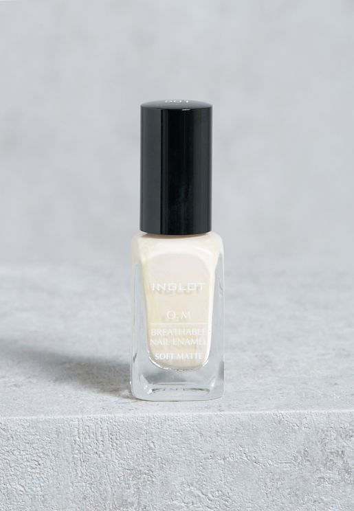 O2M Breathable Nail Enamel Soft Matte #501