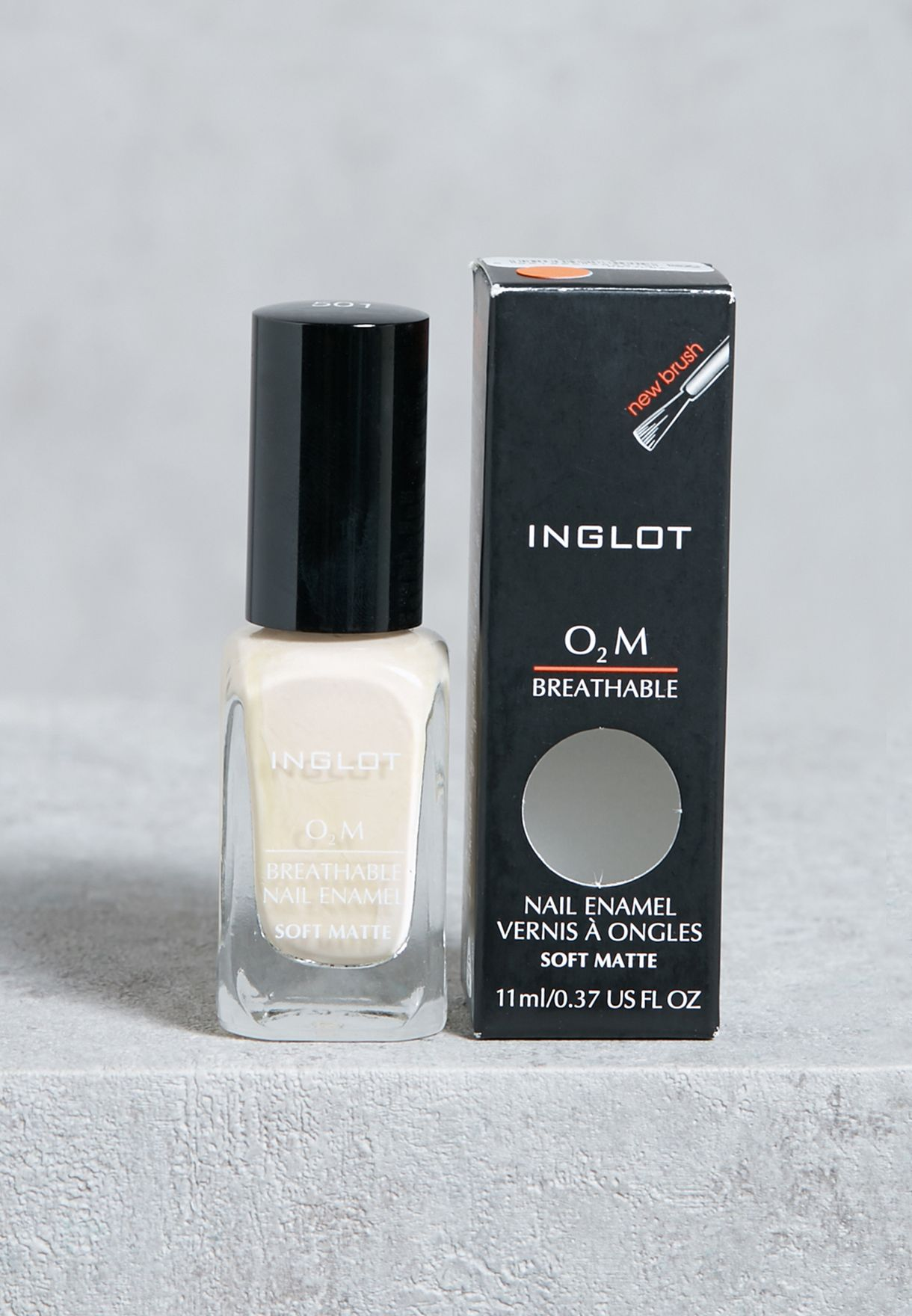 O2M Breathable Nail Enamel Soft Matte #501