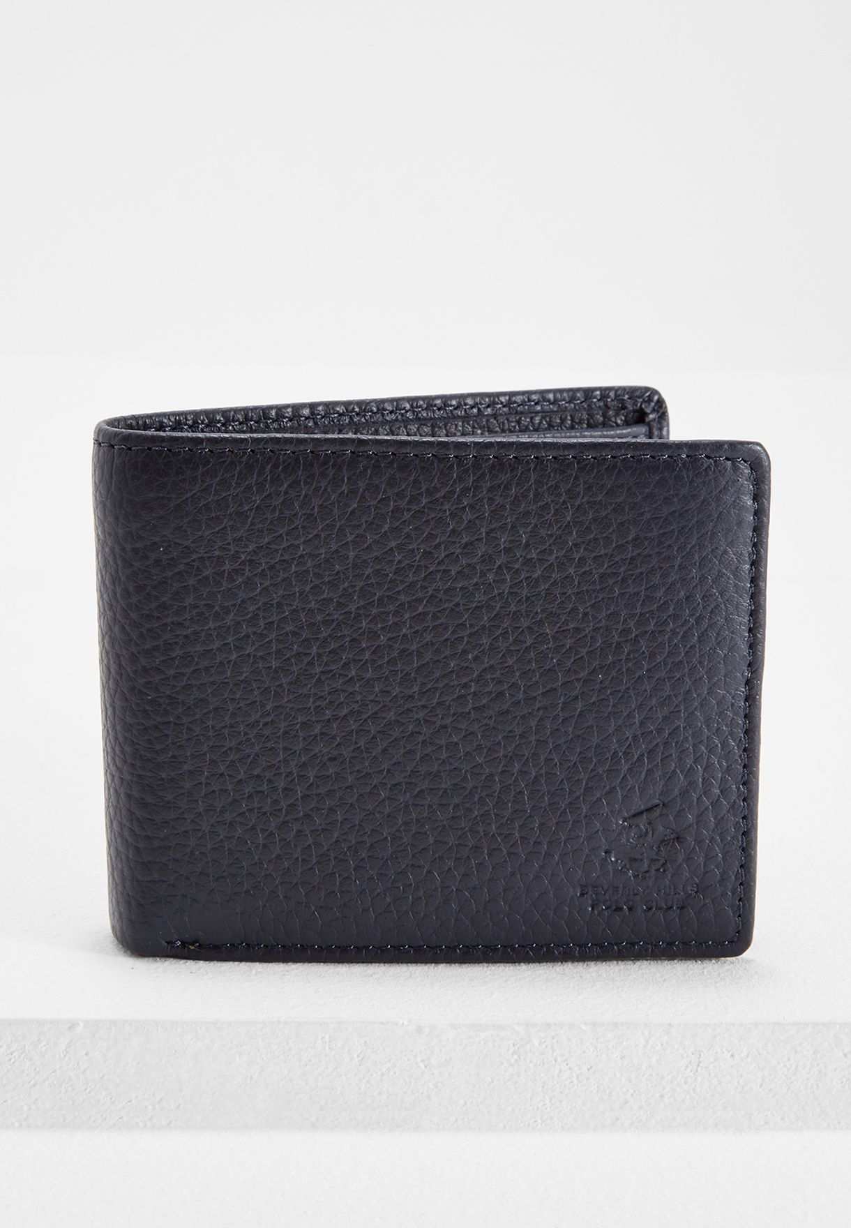 12a5391d4f Shop Beverly Hills Polo Club black Leather Wallet BP W9123 for Men ...