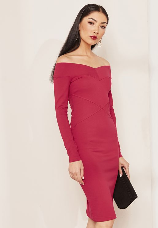 Bardot Bodycon Jersey Dress