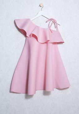 Tween Off Shoulder Dress
