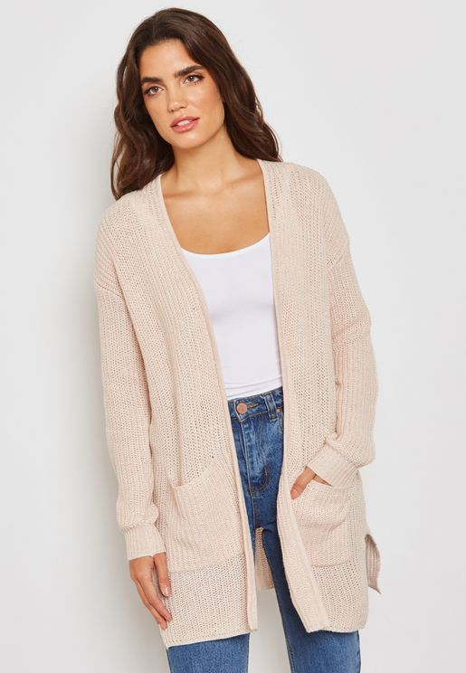 Longline Pocket Cardigan