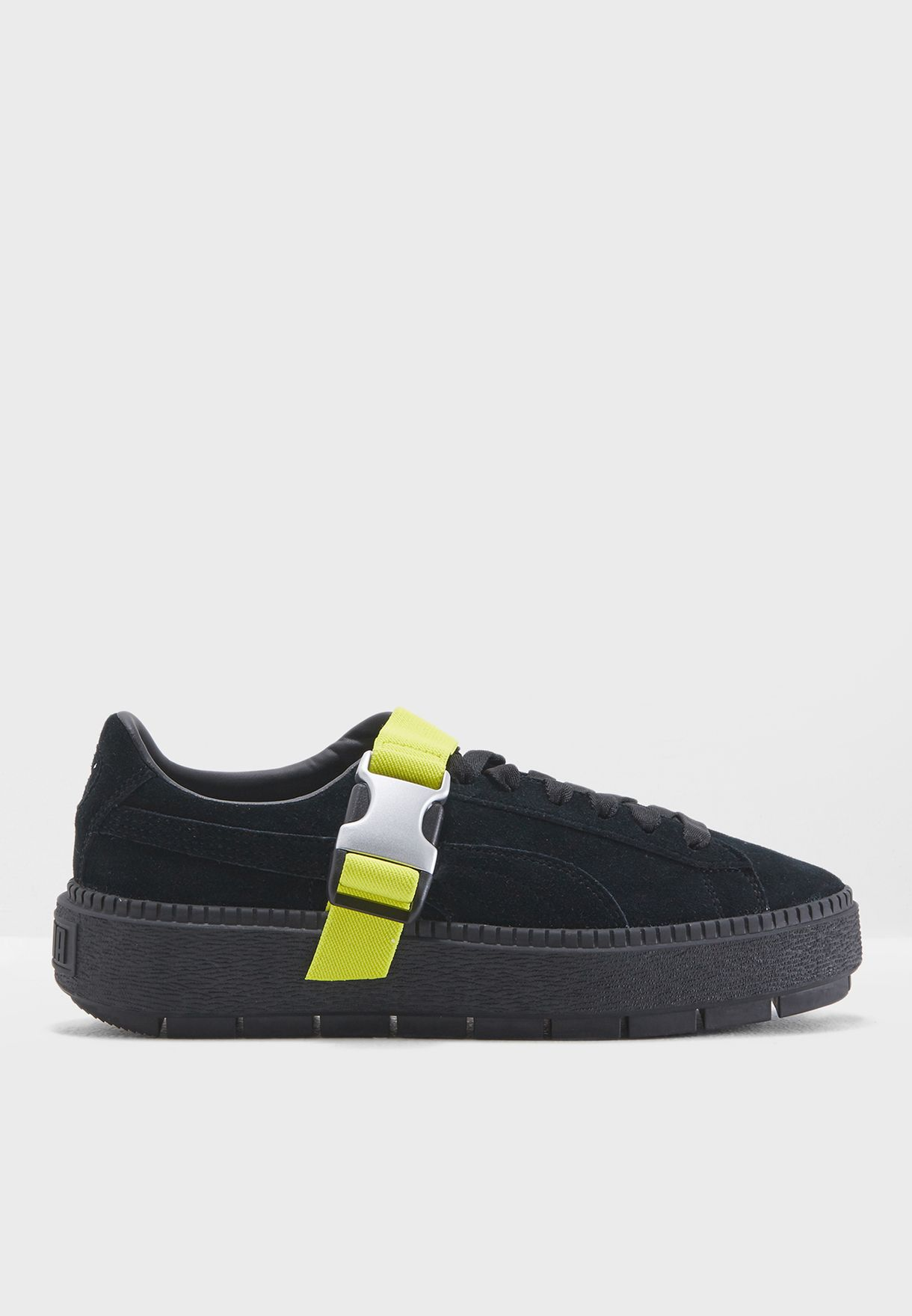 33e16d08d99 Shop PUMA black Platform Trace Buckle 36745103 for Women in Bahrain -  PU020SH89OCW