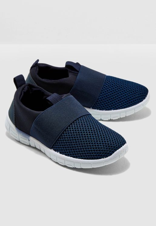 Kids Mesh Detail Slip On