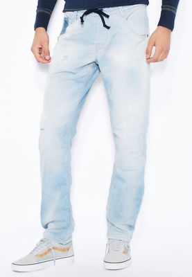 Jack & Jones Mike Slim Fit Light Wash Jog Jeans