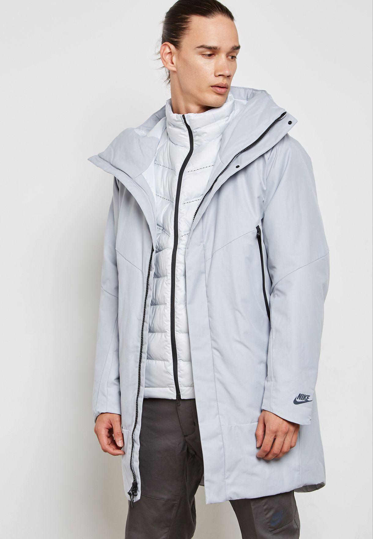 54785589b5b0 Shop Nike multicolor Down Fill 2IN1 Hooded Jacket 863730-012 for Men ...