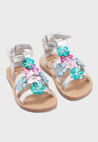 Kids Applique Sandal
