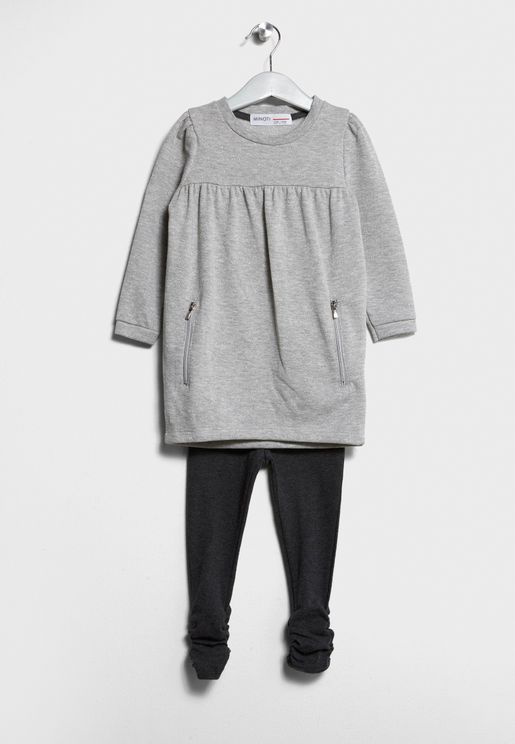 Infant Fleece Dress+Legging