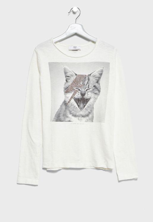 Teen Cat T-Shirt
