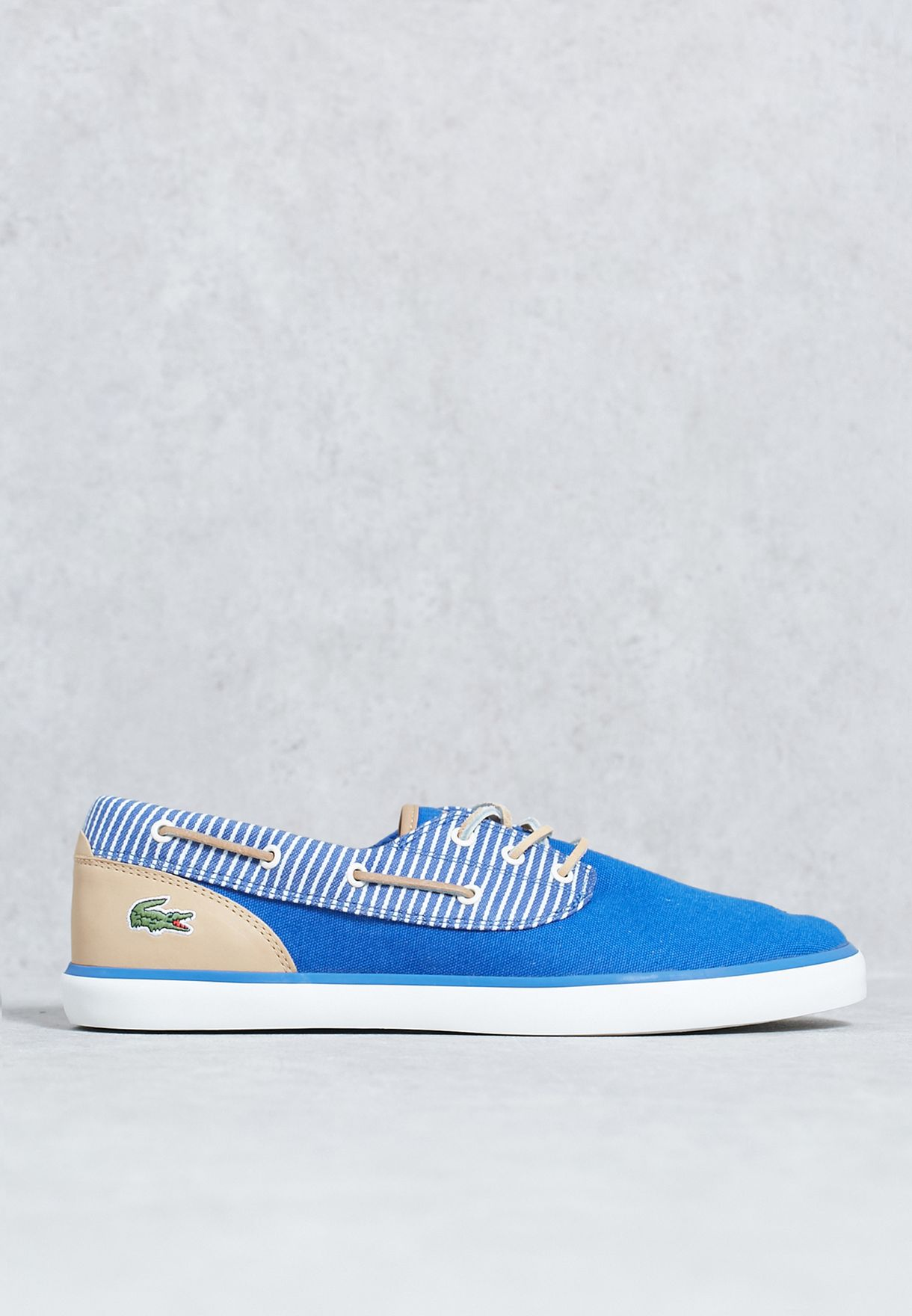 8e2b8f437 Shop Lacoste blue Jouer Deck 117 2 33CAM1080-125 for Men in UAE ...