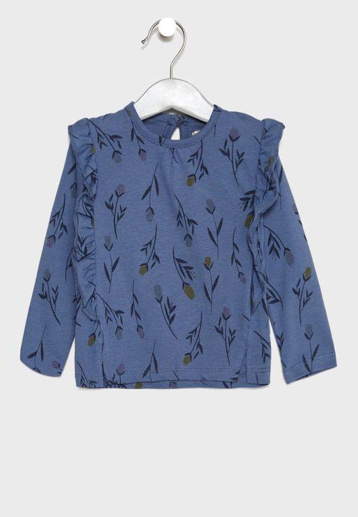 Infant Frill Detail T-Shirt