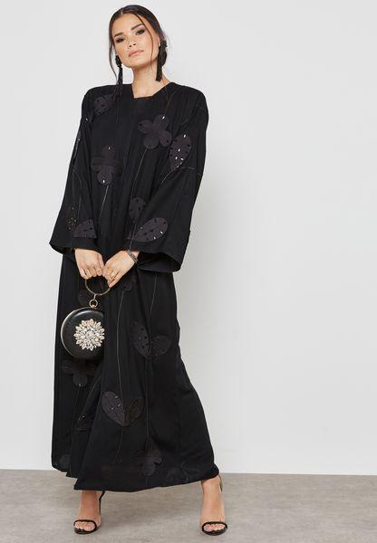 Floral Handwork Abaya