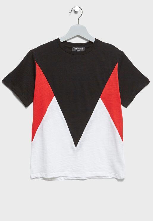 Little Color Block T-Shirt