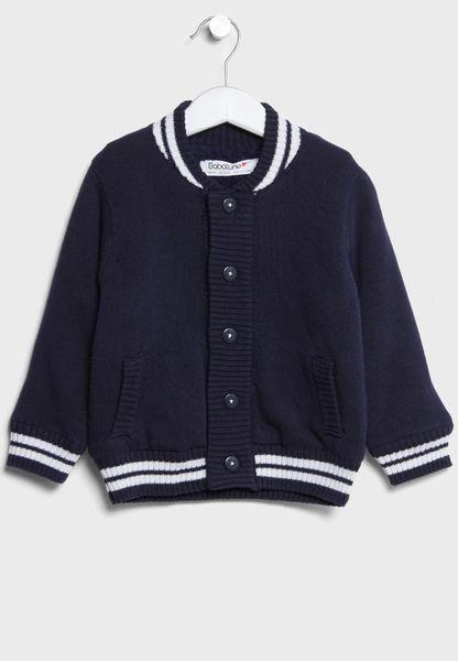 Infant Fur Line Cardigan