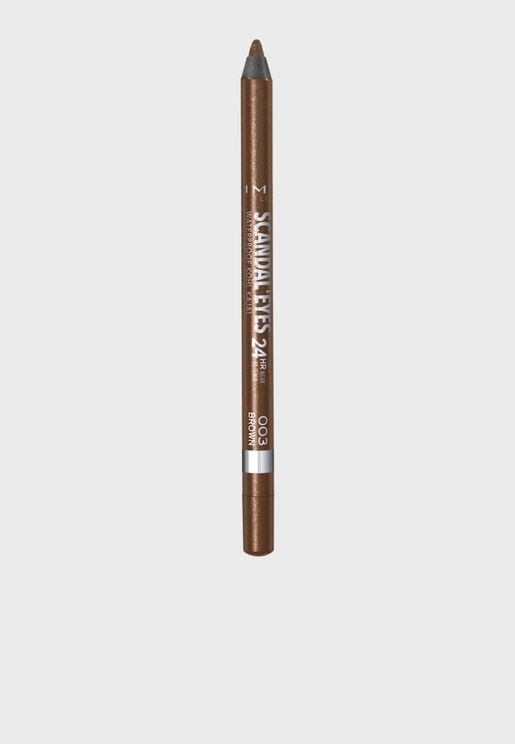 Scandaleyes Waterproof Kohl Kajal Liner- 003 Brown
