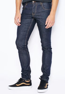 !Solid Dexter Stretched Skinny Fit Dark Wash Jeans