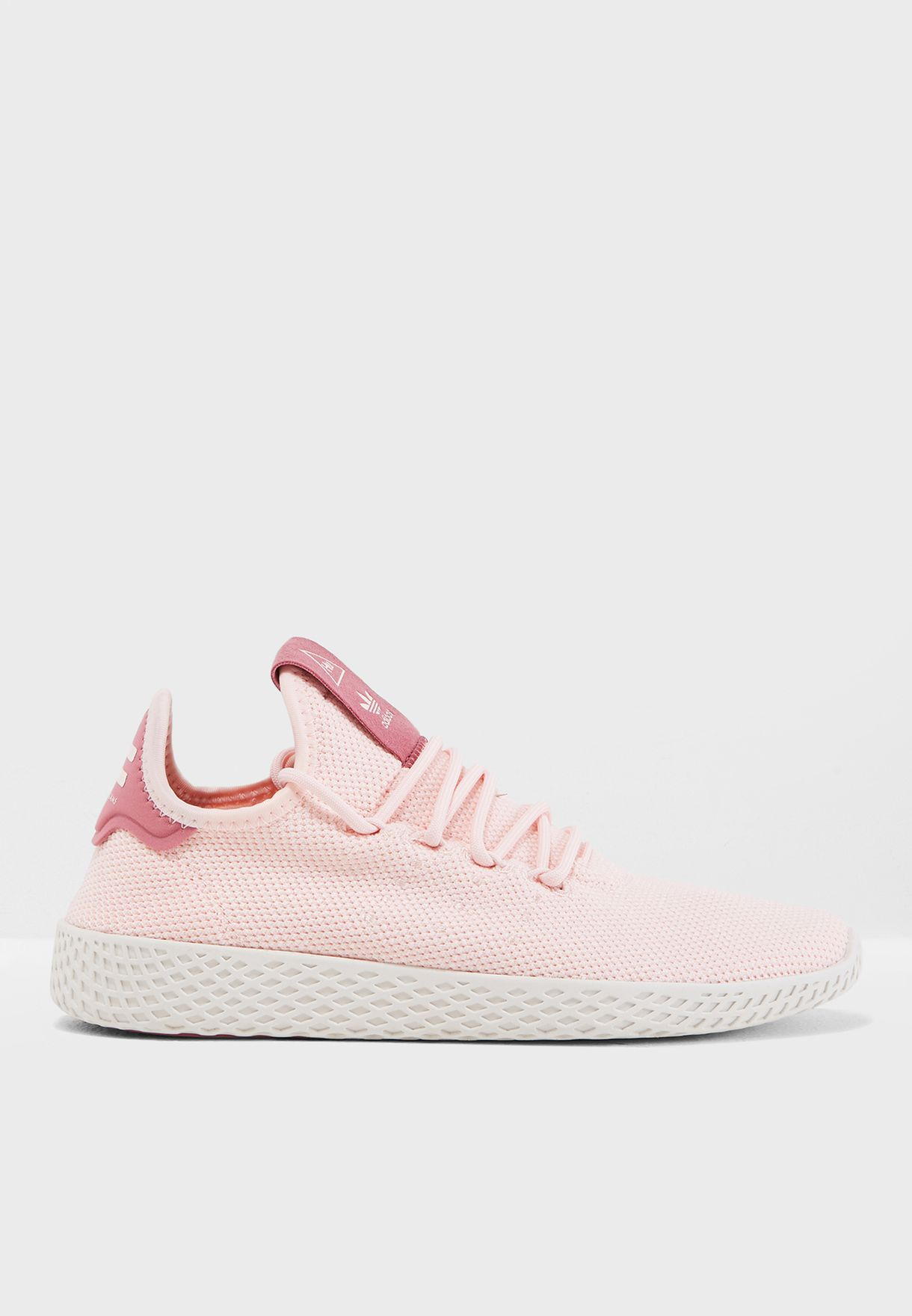 fcc71a32f40a9 Shop adidas Originals pink Pharrell Williams Tennis Hu AQ0988 for ...