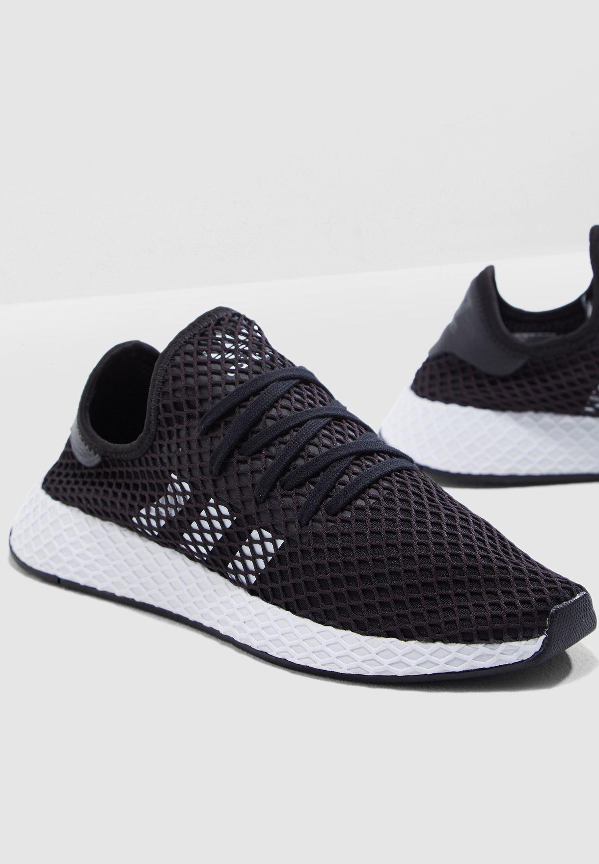 c429417fe0a40 Shop adidas Originals black Deerupt Runner BD7890 for Men in UAE ...
