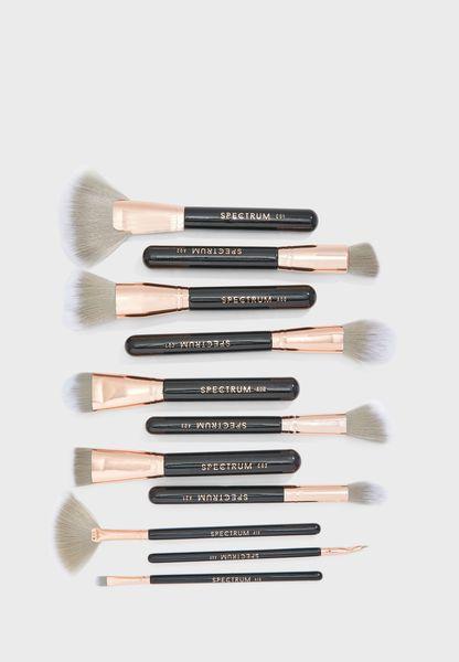 12 Pack Marbelous Make Up Brushes