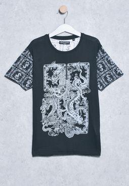 Youth Print T-Shirts