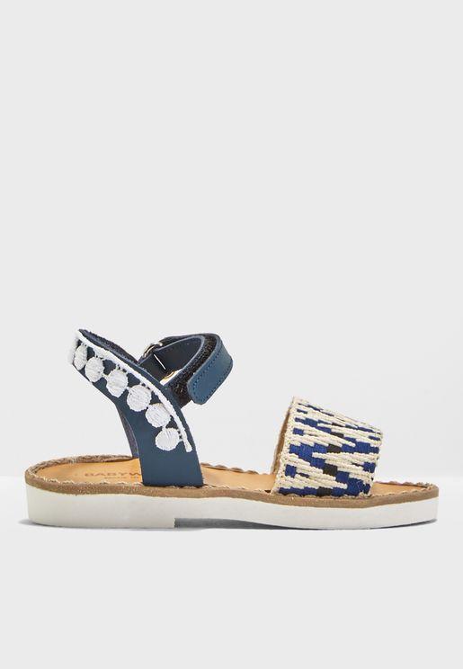 Kids Embellished Sandal