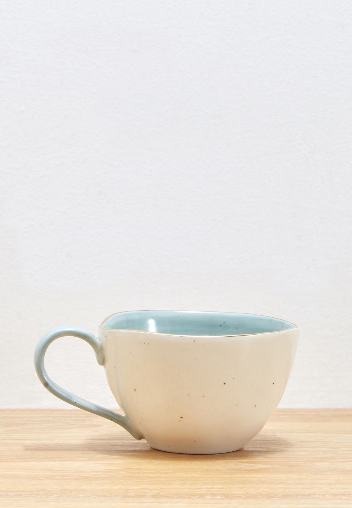 Speckled Curved Mug