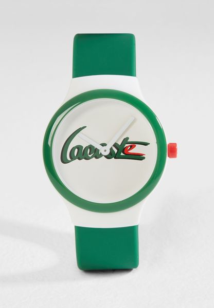 Goa Silicone Strap Analog Watch