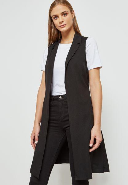 Longline Belted Back Jacket