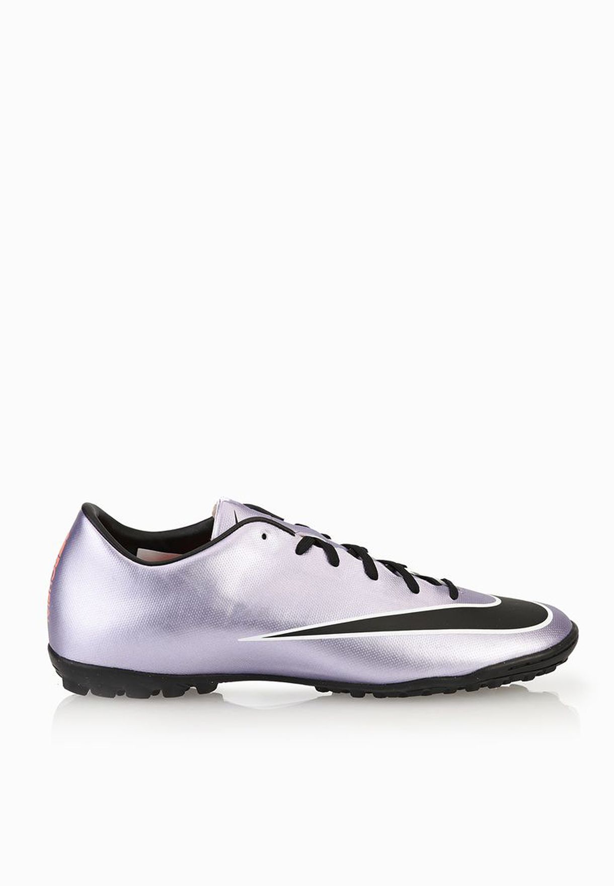 finest selection 3c5b5 88291 Shop Nike purple Mercurial Victory V TF 651646-580 for Men in ...