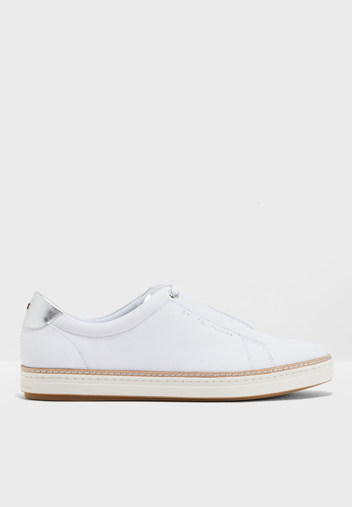 Buy Tommy Hilfiger white Leather City