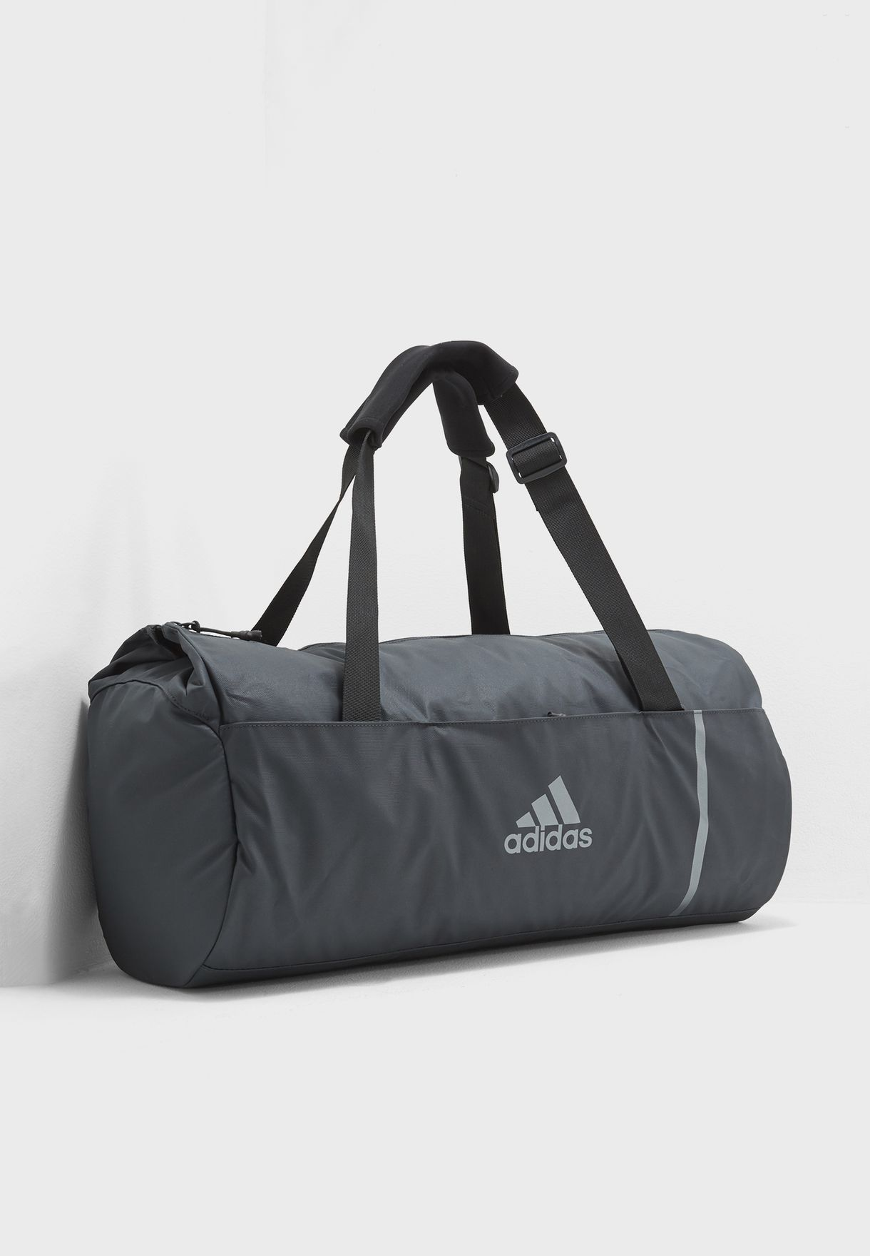 Shop adidas grey Medium Convertible Duffel With Gymsack CG1529 for ... 1ae4fa68db4cc