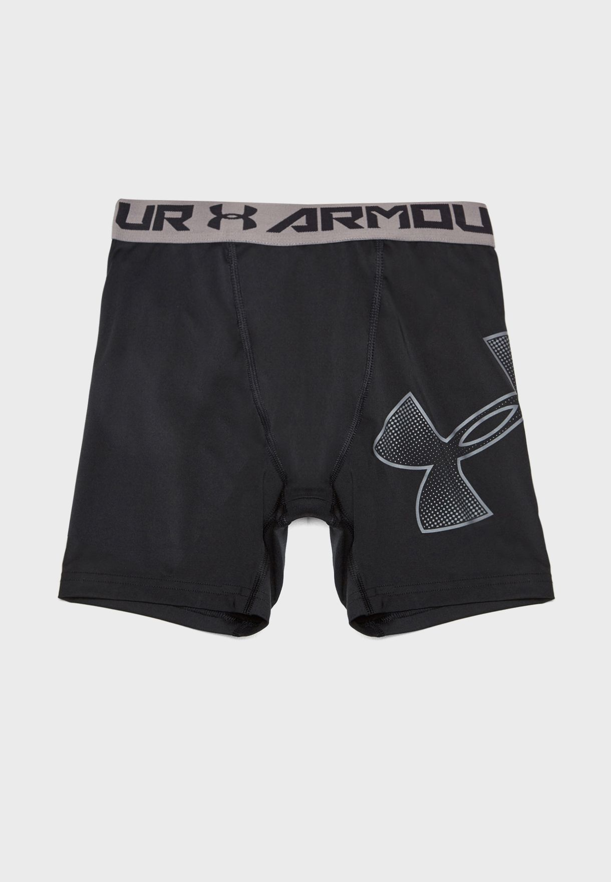 Shop Under Armour black Youth Logo Shorts 1289960-003 for Kids in Saudi -  UN700AT89TVA 5a0a2b51e3abd