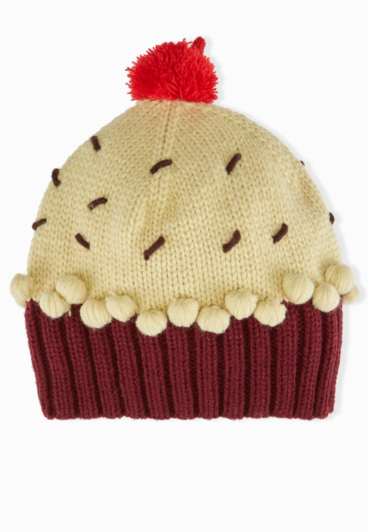 2034e120d091c Shop Neff fall yellow Cupcake Beanie for Women in Qatar - NE706AC89TBI