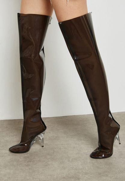 Izabel High-Heel Knee Boots