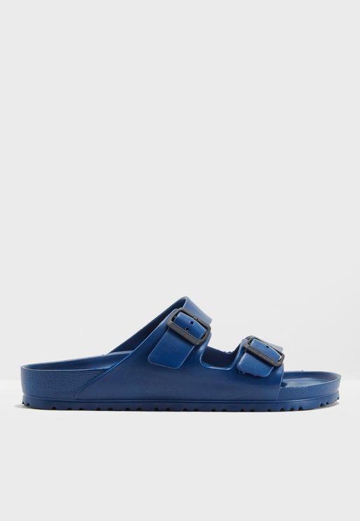 Double Slide Sandals