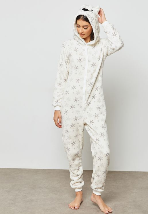 Christmas Polar Bear Onesie